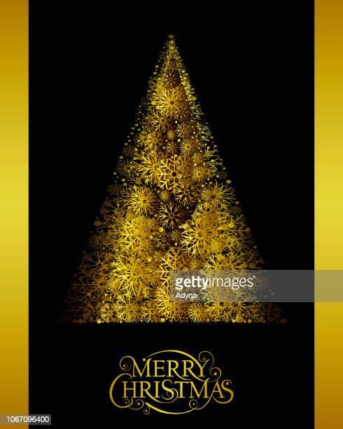 抽象的なクリスマス ツリー