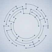 Abstract Circle Data Nodes