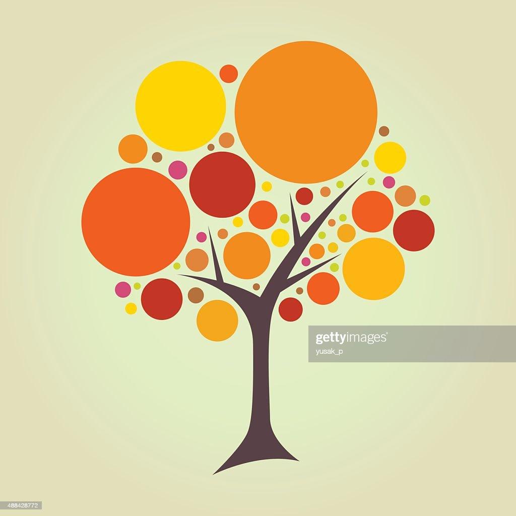 Abstract Circle Tree
