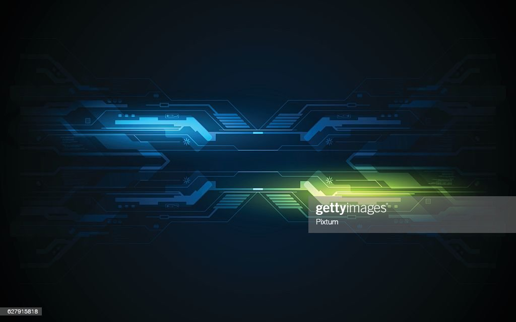 abstract circuit hi tech pattern technology innovation frame concept background