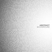 Abstract Circular Light Gray Background.