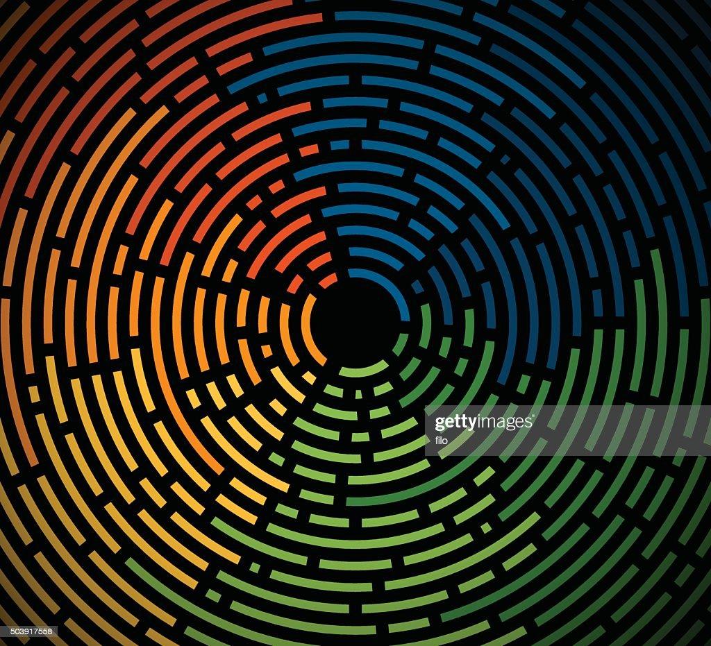 Abstract Circular Lines