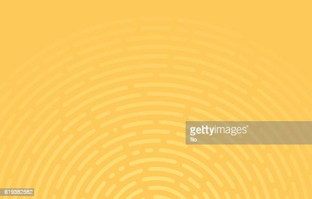 abstract circular lines - yellow stock illustrations