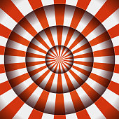 Abstract Circus Background