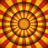Abstract Circus Carnival Background