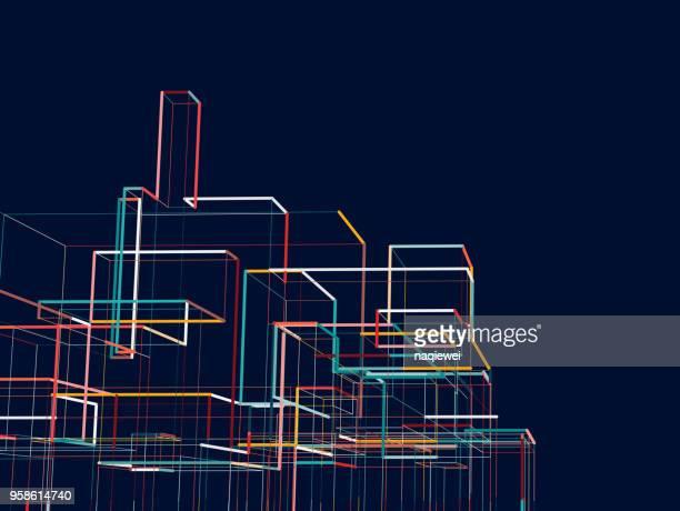 Construction de la ville abstraite