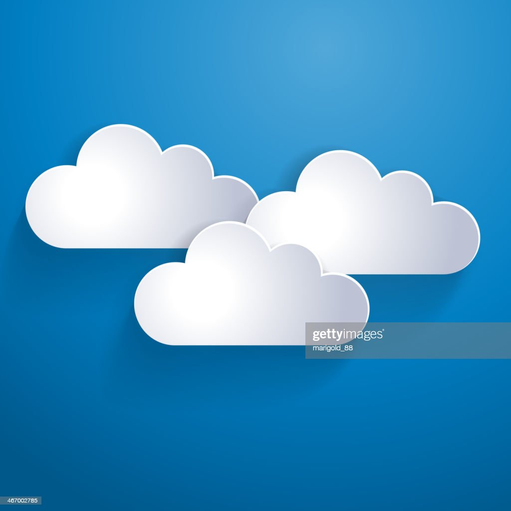 Abstract clouds background