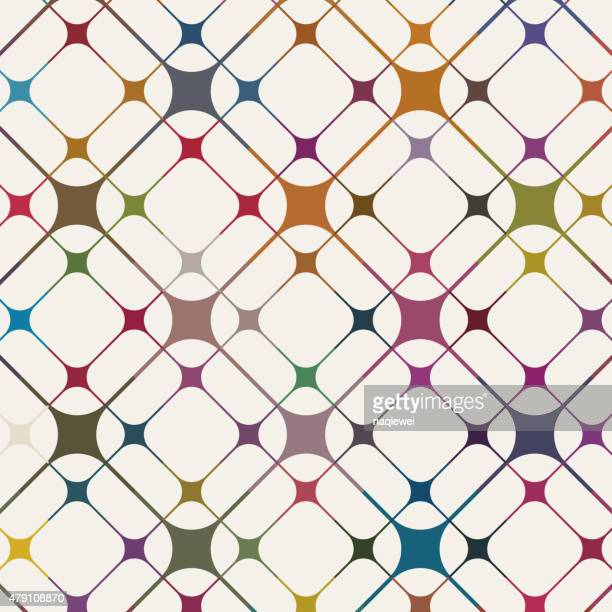 abstract color pattern background - textile industry stock illustrations