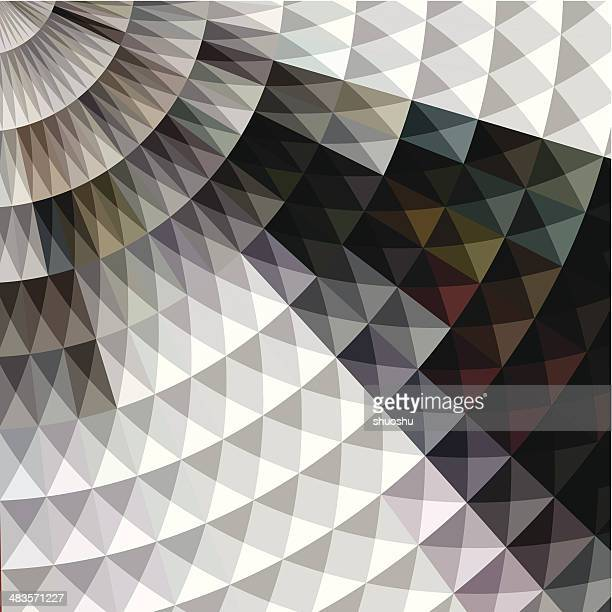 abstract color round pattern background