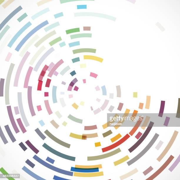 Abstrait motif rayure de couleur texture d'arrière-plan pour le design