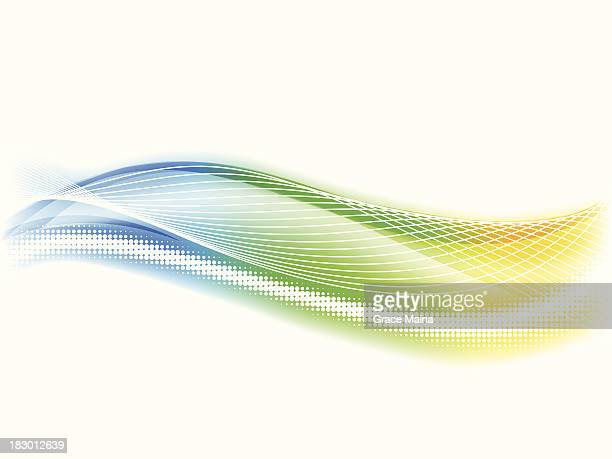 Abstract colored background - VECTOR