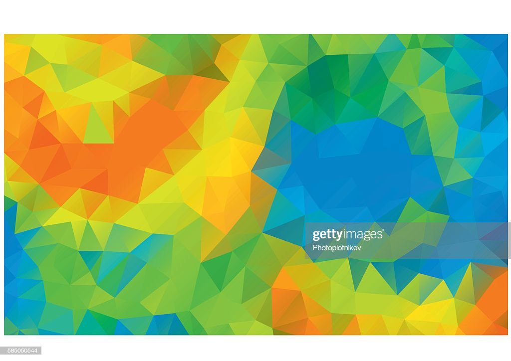 Abstract colorful background Rio 2016 Brazil athletic games