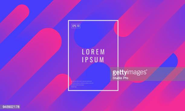 abstract colorful background - half tone stock illustrations