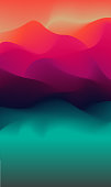 Abstract colorful blur background. Vector illustration. Rainbow-colored.