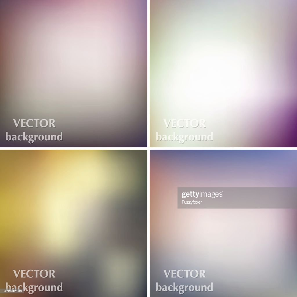 Abstract colorful blurred business vector backgrounds