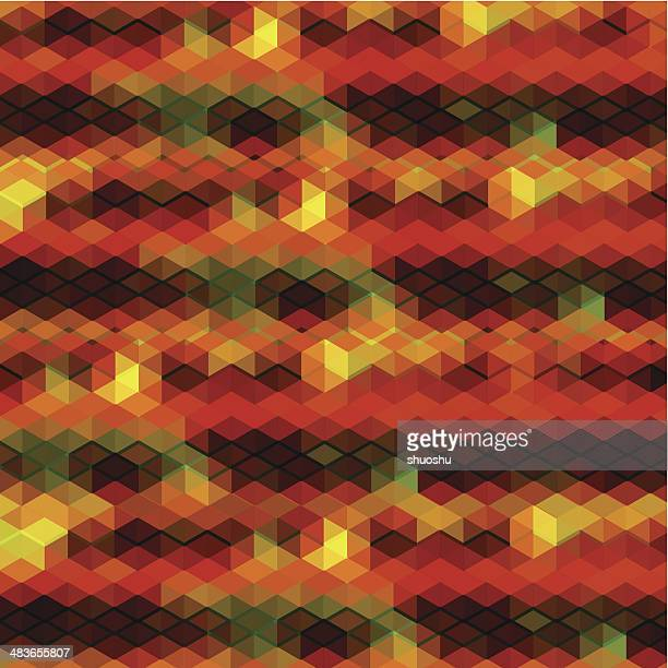 abstract colorful hexagon shape background