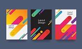 abstract colorful layout . Trendy , wallpaper, modern design style. vector background .