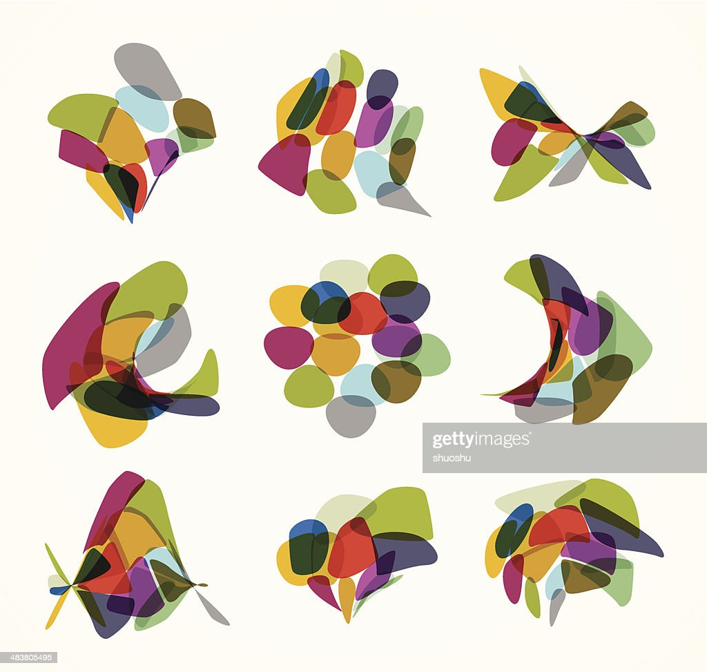abstract colorful pattern background