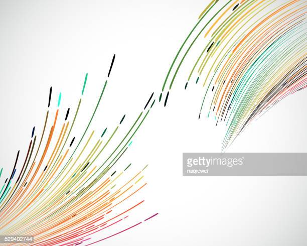 abstract colorful stripe pattern technology background