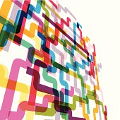 abstract colorful technology line pattern background