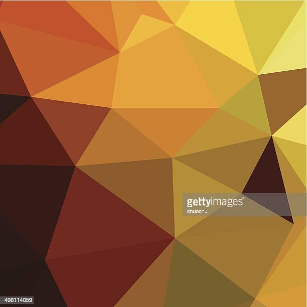 抽象的なカラフルな背景の三角模様