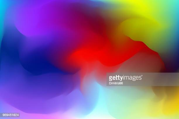 Abstract colorful vector mesh background
