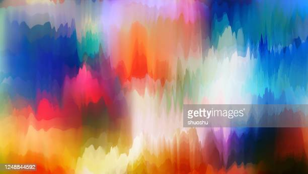 abstract colorful watercolor liquid background - digital composite stock illustrations