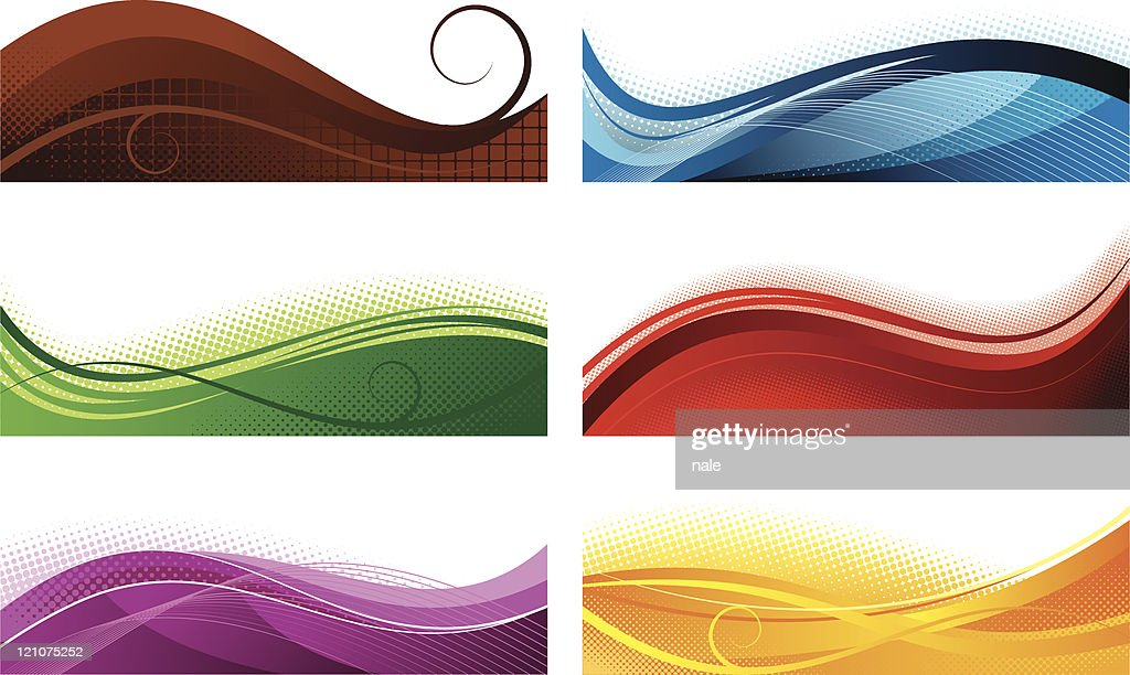 Abstract colorfull banners