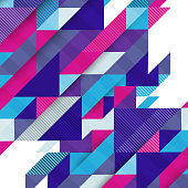 Abstract colors background. Flat vector illustration