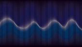 Abstract Colourful Rhythmic Sound Wave