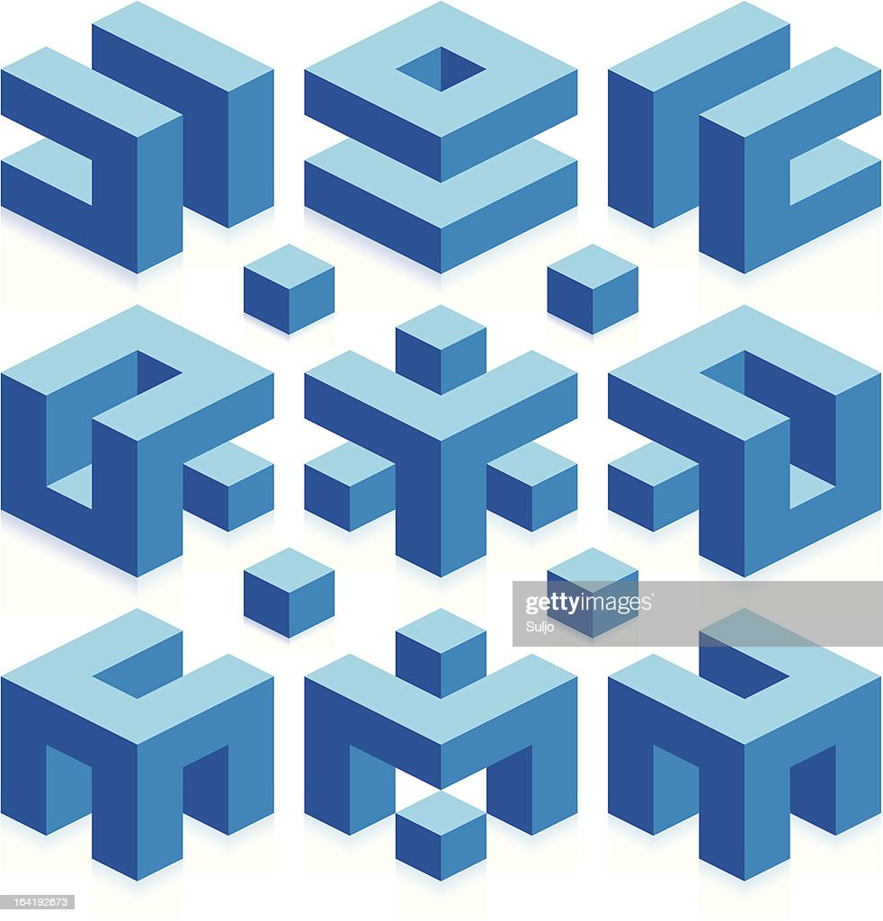 Abstract Construction Business Elements