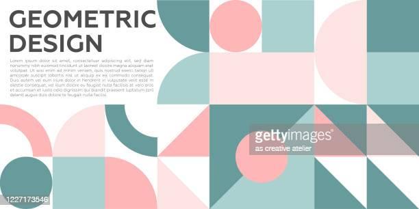 抽象的なクリエイティブ ヘッダー。現代の芸術的背景。幾何学的な形状のテクスチャ。 - 角点のイラスト素材/クリップアート素材/マンガ素材/アイコン素材