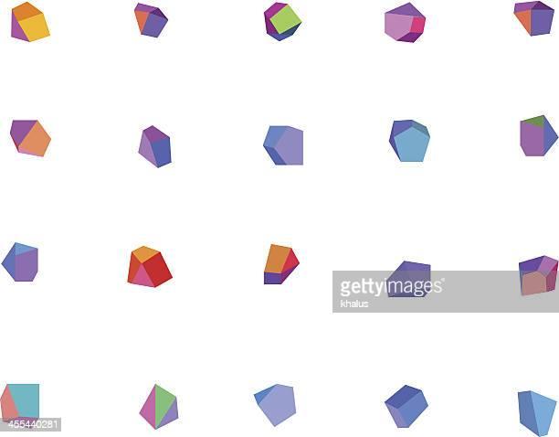 Abstrakte Kristallen