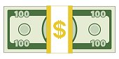 Abstract currency illustration