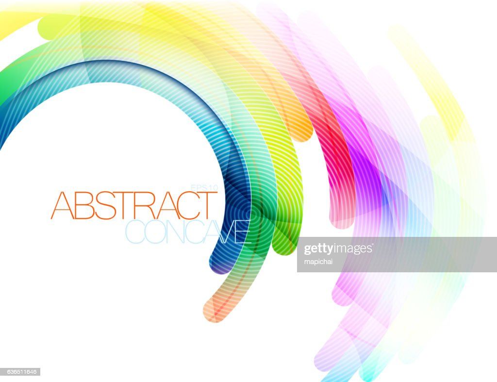 Abstract curve scene