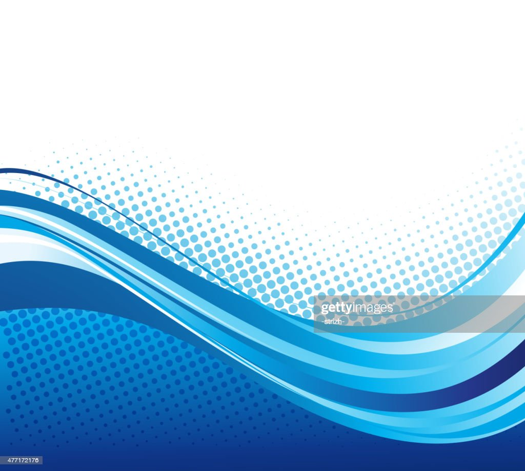 Abstract curved lines background. Template brochure design