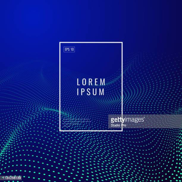 abstract cyber background - point of view stock illustrations