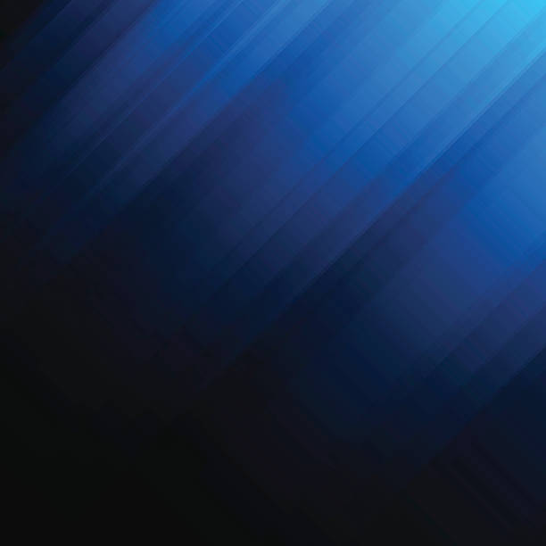 abstract dark blue background - cool attitude stock illustrations