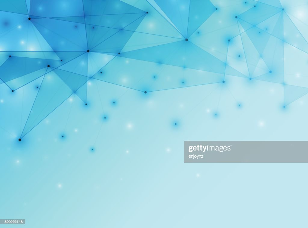 Abstract data network background : stock illustration