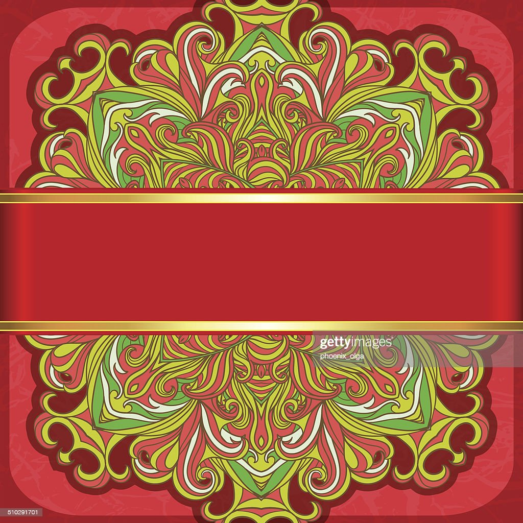 Abstract decoration vintage background.  Vector 10 EPS