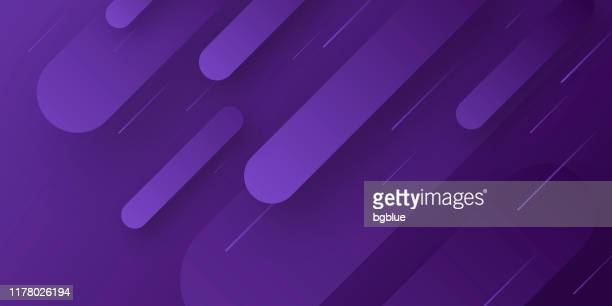 abstract design with geometric shapes - trendy purple gradient - purple stock illustrations