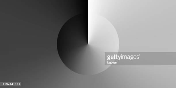 abstract design with gray gradient color - trendy background - black and white stock illustrations