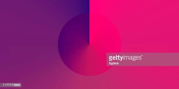illustrazioni stock, clip art, cartoni animati e icone di tendenza di abstract design with purple gradient color - trendy background - copy space