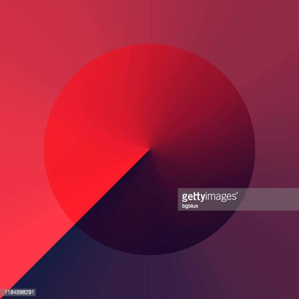 abstract design with red gradient color - trendy background - red and blue background stock illustrations