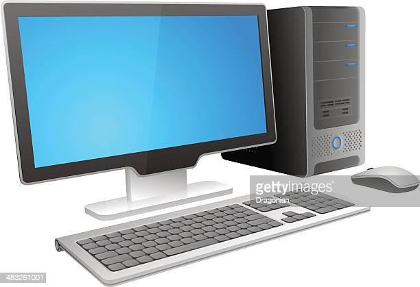 Abstrait ordinateur de bureau