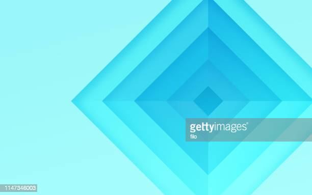 abstract diamond background pattern - digital composite stock illustrations
