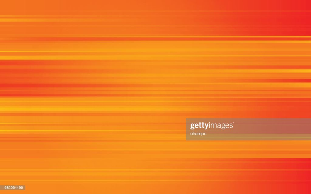 Abstract digital background with stripe line pattern on orange color