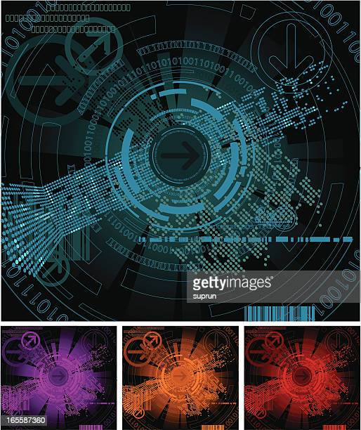 Abstract Digital Backgrounds Series