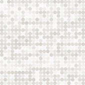 Abstract digital grey circles on white background seamless patte