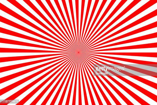abstract diminishing perspective background - optical illusion stock illustrations